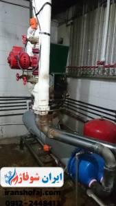 مبدل آب گرم مصرفی